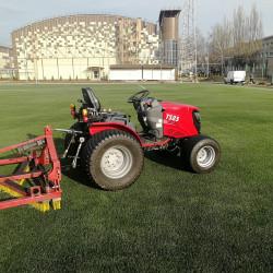 Обслуживание футбольных полей, спортивных площадок и сооружений