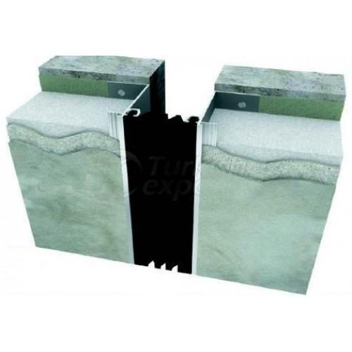 Стеновой и угловой деформационный шов